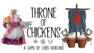 throne of chickens card game